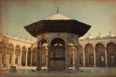 穆罕默德阿里清真寺看法  库存图片