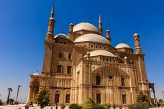 穆罕默德阿里清真寺,开罗,埃及萨拉丁城堡  库存图片
