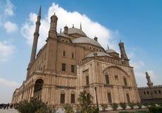 穆罕默德阿里清真寺,萨拉丁城堡-开罗,埃及 免版税图库摄影