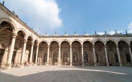 穆罕默德阿里清真寺,萨拉丁城堡-开罗,埃及 库存照片