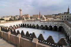 穆罕默德阿里清真寺,萨拉丁城堡-开罗,埃及 免版税库存图片