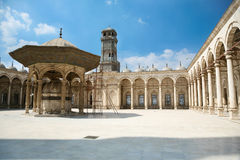 穆罕默德・阿里清真寺在开罗埃及 免版税库存图片