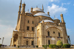 穆罕默德・阿里清真寺在开罗城堡,开罗埃及 图库摄影