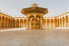 穆罕默德・阿里清真寺在萨拉丁城堡老Cair的 库存照片