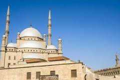 穆罕默德・阿里,开罗,埃及的萨拉丁城堡清真寺  库存照片