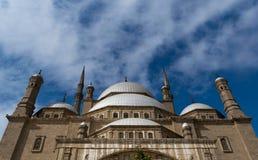 穆罕默德・阿里巴夏伟大的清真寺,开罗,埃及 免版税库存照片