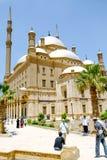 穆罕默德・阿里巴夏伟大的清真寺  免版税库存图片