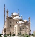 穆罕默德・阿里巴夏雪花石膏清真寺伟大的清真寺  库存图片