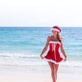 穆巴拉克 热带海滩的克劳斯 免版税库存图片
