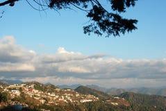 穆索里Uttarakhand印度 图库摄影