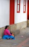 贫穷在波哥大 免版税库存图片