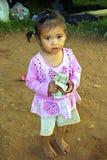 贫穷女孩,印度尼西亚 免版税图库摄影