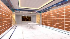 穹顶室 免版税图库摄影
