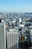 空中东京 免版税图库摄影