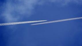 空中交通 库存照片