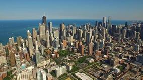 空中伊利诺伊芝加哥天 股票录像
