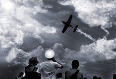 空中会议 免版税库存图片