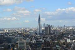 空中伦敦视图 库存照片