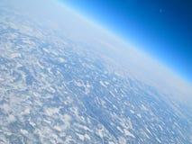 空中冷视图 图库摄影