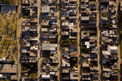 空中利昂墨西哥视图 库存照片