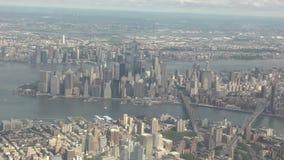 空中城市纽约 股票录像