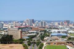 空中城市视图 免版税库存图片
