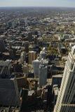 空中城市 图库摄影