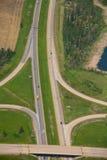 空中天桥 库存图片