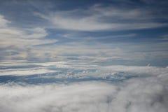 空中天空 库存照片