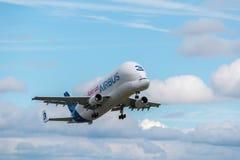 空中客车白海豚第三 图库摄影