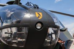空中客车从德国军队的EC 135直升机 图库摄影