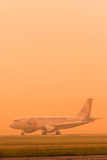 空中客车A320乌拉尔航空公司 免版税库存照片