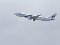 空中客车A330-323维尔京澳大利亚 免版税库存照片