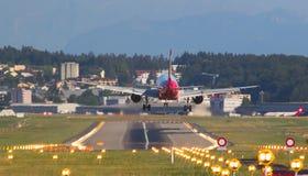 空中客车A-319柏林航空 库存图片