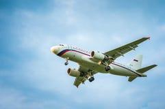 空中客车A319-111航空公司Rossiya EI-EYL  免版税库存图片