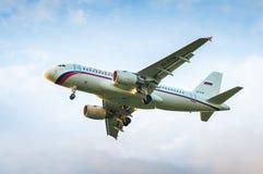 空中客车A319航空公司Rossiya EI-EYM  库存照片