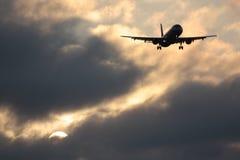 空中客车A320苏航俄罗斯 免版税库存照片