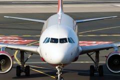 空中客车A-319飞机柏林航空航空公司 库存照片
