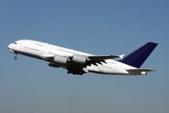 空中客车A380 免版税库存照片
