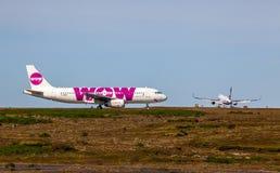 空中客车A320-232 免版税库存图片