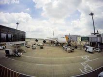空中客车A380-800 库存照片