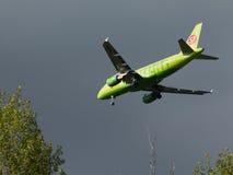 空中客车A319-114 免版税库存照片