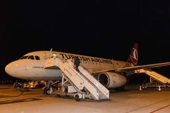 空中客车A320-100 免版税库存照片