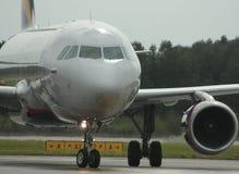 空中客车A319 Donavia 免版税库存图片