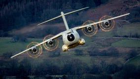 空中客车A400M地图集A400 免版税库存照片