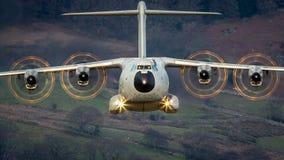 空中客车A400M地图集A400 图库摄影