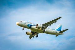 空中客车A320-214 VP-BHX— Yamal航空公司 图库摄影