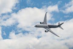 空中客车A350XWB 免版税库存图片