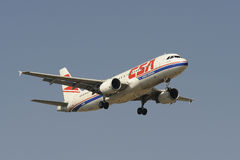空中巴士A320-214 免版税库存图片