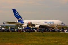 空中巴士A380 免版税库存照片